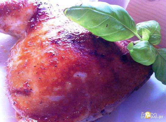 Курица в огуречном  маринаде