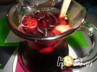 Приготовление фруктовой сангрии: шаг 2
