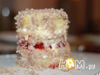 Приготовление пирожных Летняя ягодка: шаг 3