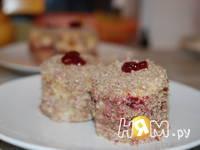Приготовление пирожных Летняя ягодка: шаг 4