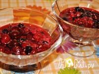 Приготовление ягодного десерта с йогуртом: шаг 8