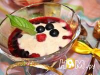Приготовление ягодного десерта с йогуртом: шаг 10