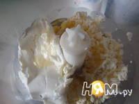 Приготовление торта с творожно-малиновой начинкой: шаг 4