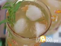 Приготовление напитка Тархун с пряностями: шаг 5