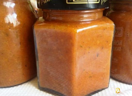 Острый соус из сливки