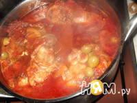 Приготовление тушеной курицы по-испански: шаг 9