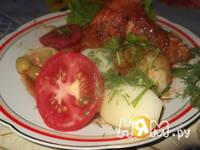 Приготовление тушеной курицы по-испански: шаг 10