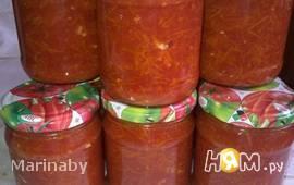 Приправа из томатов и моркови