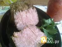 Приготовление ростбифа в горчичном маринаде: шаг 13