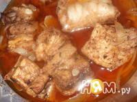 Приготовление жаркого с овощным рагу: шаг 3