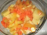 Приготовление жаркого с овощным рагу: шаг 4