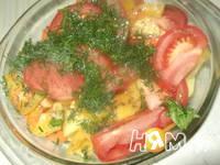 Приготовление жаркого с овощным рагу: шаг 5