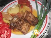 Приготовление жаркого с овощным рагу: шаг 8