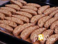 Приготовление медовых бискотти с лавандой: шаг 7