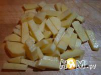 Приготовление супа из консервированной сайры: шаг 3