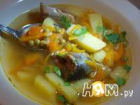 Приготовление супа из консервированной сайры: шаг 8