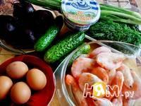 Приготовление холодного свекольника с креветками: шаг 1