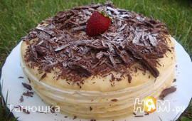 Карлсбадский слоёный торт