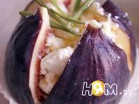 Приготовление инжира, запеченного с фетой и медом: шаг 3