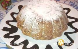 Лимонно-ореховый кекс
