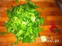 Приготовление куриного филе со шпинатом: шаг 2