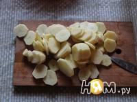 Приготовление овощей, запеченных в рукаве: шаг 2