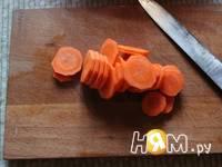Приготовление овощей, запеченных в рукаве: шаг 3