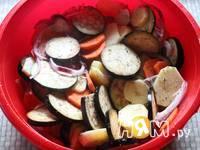 Приготовление овощей, запеченных в рукаве: шаг 5