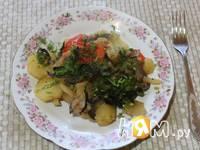 Приготовление овощей, запеченных в рукаве: шаг 9