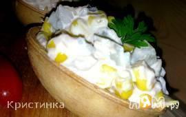Салат из кукурузы с тунцом