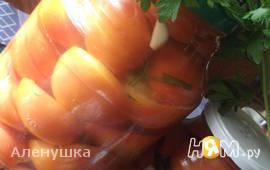 Соленые помидоры за 4 дня