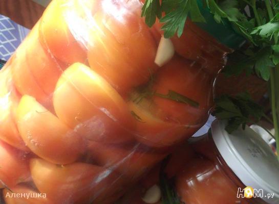 Рецепт Соленые помидоры за 4 дня