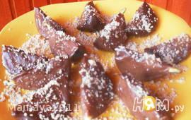 Инжир в шоколаде с орехами