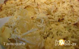 Гратен из картофеля с фенхелем