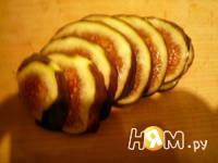 Приготовление горячих бутербродов с инжиром и сыром: шаг 2
