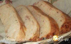 Белый хлеб с беконом