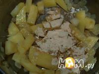 Приготовление супа-крема из кукурузы на молоке: шаг 5