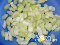 Приготовление куриного филе с яблоками и тархуном: шаг 4