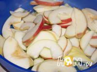 Приготовление куриного филе с яблоками и тархуном: шаг 5