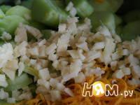 Приготовление варенья из ревеня с яблоками и имбирем : шаг 4