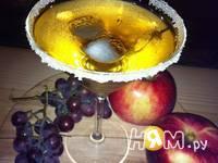 Приготовление коктейля Яблочный Мартини: шаг 4