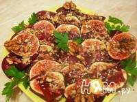 Приготовление салата из свеклы с инжиром: шаг 3