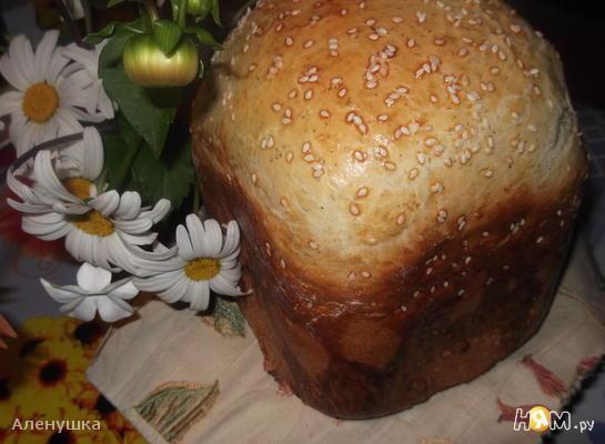 Белый хлеб с чесноком и укропом