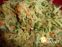 Приготовление овощной запеканки с фаршем: шаг 2