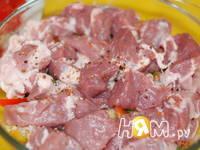Приготовление мясного рагу с овощами: шаг 8