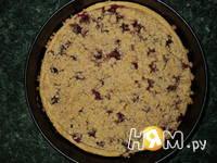 Приготовление тарта с творогом и малиной: шаг 14