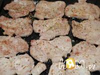 Приготовление свинины с баклажанами,  в омлете: шаг 6