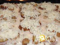 Приготовление свинины с баклажанами,  в омлете: шаг 10