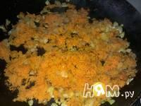Приготовление пирога наливного с грибами и капустой: шаг 6