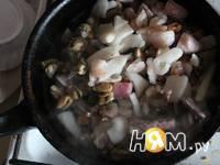 Приготовление теплого салата Вечер у моря: шаг 1